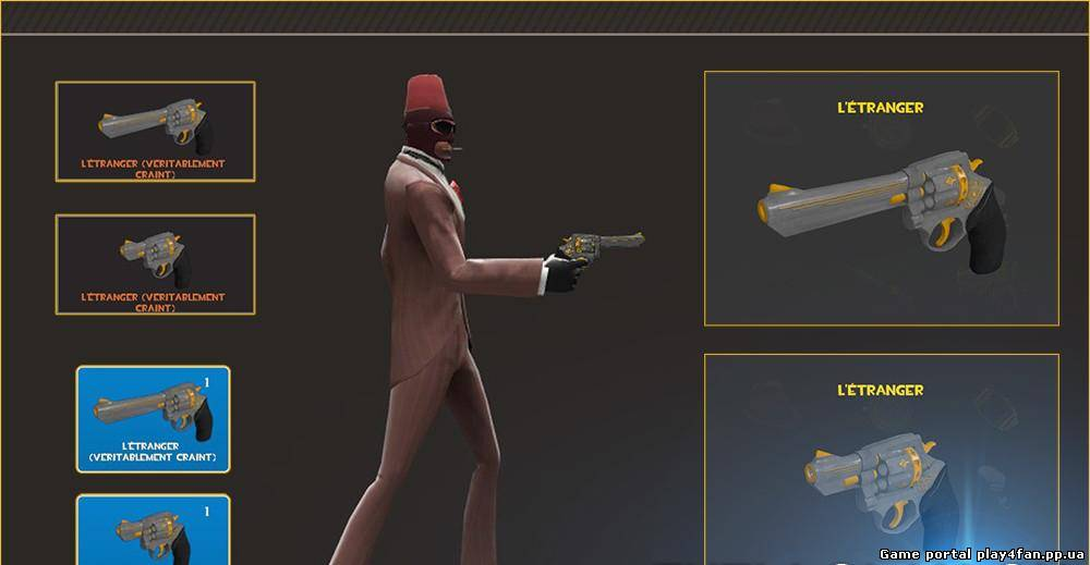 Оружие для TF2 «The Stylish Snob»
